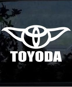 toyoda decal sticker