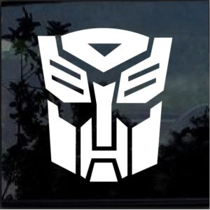 transformer autobot auto bot decal sticker