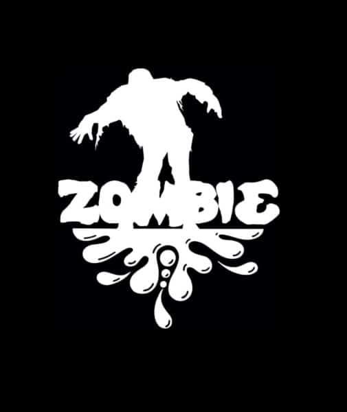 Walking splash Zombie Stickers - https://customstickershop.us/product-category/zombie-stickers/