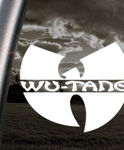Wu Tang Clan Band Decal Sticker - //customstickershop.us/product-category/music-decals/