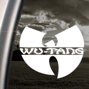 Wu Tang Clan Band Decal Sticker - https://customstickershop.us/product-category/music-decals/
