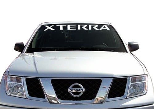 Nissan X terra Windshield Decals - https://customstickershop.us/product-category/windshield-decals/