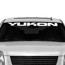 GMC Yukon Windshield Decals - https://customstickershop.us/product-category/windshield-decals/