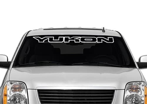 GMC Yukon II Windshield Decals - https://customstickershop.us/product-category/windshield-decals/