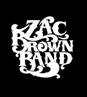Zac Brown Band Decal Sticker - https://customstickershop.us/product-category/music-decals/