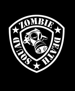 Death Squad Zombie Stickers - https://customstickershop.us/product-category/zombie-stickers/