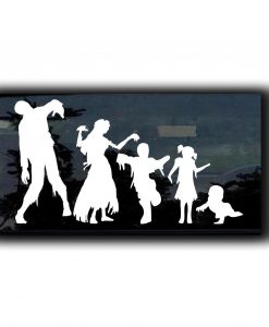 Zombie Family Zombie Stickers - //customstickershop.us/product-category/zombie-stickers/