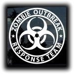 Response Team Zombie Stickers - http://customstickershop.us/product-category/zombie-stickers/