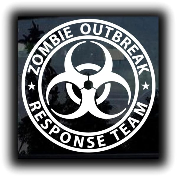 Response Team Zombie Stickers