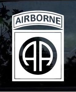 82nd Airborne Decal Sticker