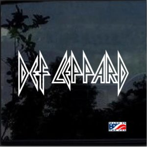 Def Leppard Band Decal sticker