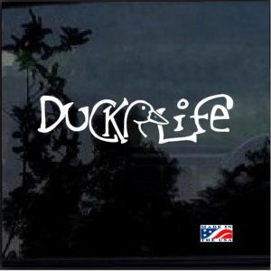 Duck life a2 Window Decal Sticker