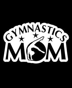 Gymnastics Mom Window Decal a2