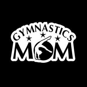 Gymnastics Mom Window Decal a2