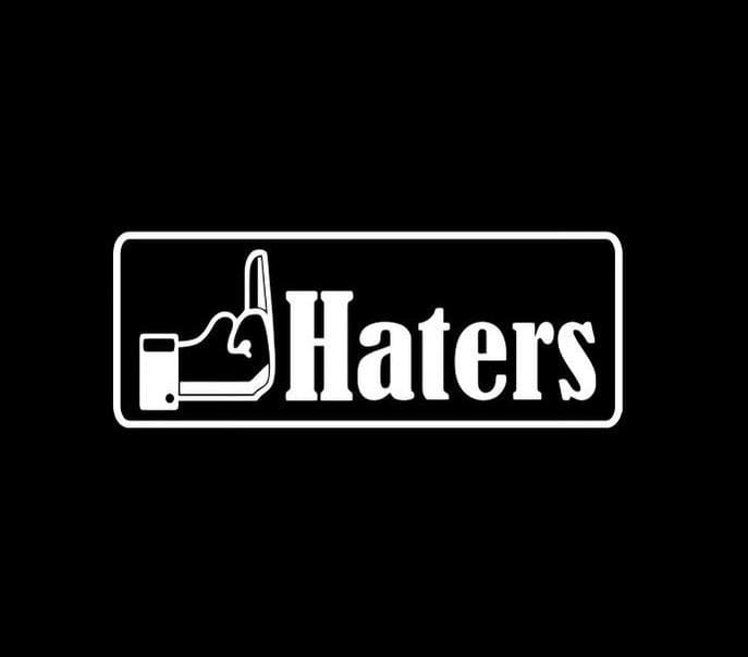 Screw Haters JDM Stickers - https://customstickershop.us/product-category/jdm-stickers/