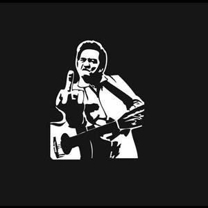 Johnny Cash Music Window Decal