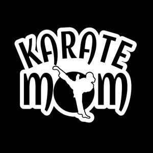 Karate Mom Window Decal