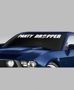 Panty Dropper JDM Windshield Decal //customstickershop.us/product-category/jdm-stickers/