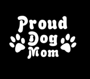 Proud Dog Mom Animal Stickers - https://customstickershop.us/product-category/animal-stickers/