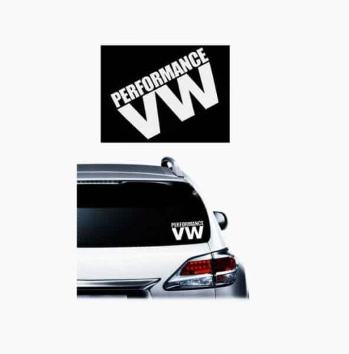 Performance VW JDM Decal - https://customstickershop.us/product-category/jdm-stickers/
