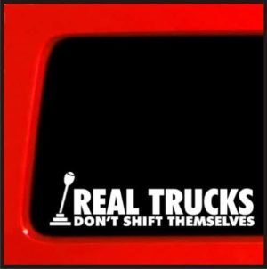 Real Trucks Truck Stickers