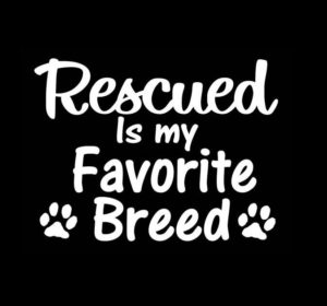 Rescue Favorite Breed Animal Stickers - https://customstickershop.us/product-category/animal-stickers/
