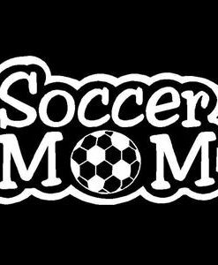 Soccer Mom Car Window Decal a2