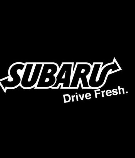 Subaru drive fresh jdm stickers http customstickershop us product