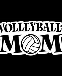 Volleyball Mom Window Decals