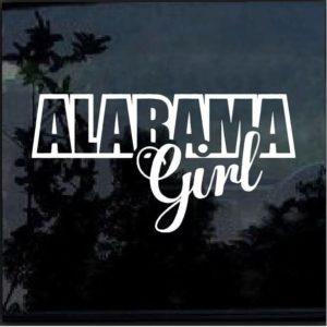 Alabama Girl Decal Sticker