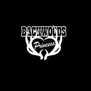 Backwoods Princess Window Decal
