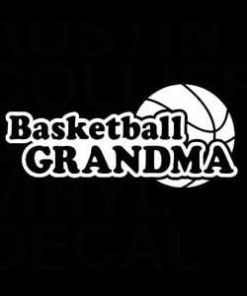 Basketball Grandma Window Decal