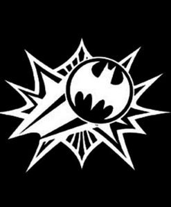 Batman Car Window Decal Sticker - //customstickershop.us/product-category/stickers-for-cars/