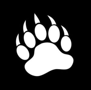 Bear Paw Window Decals - https://customstickershop.us/product-category/animal-stickers/
