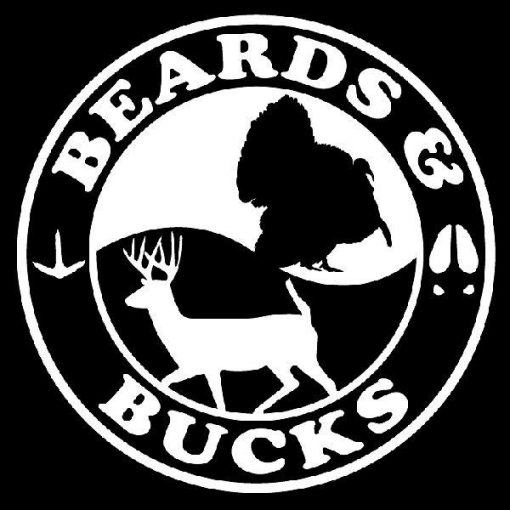 Beards and Bucks Hunting Decals