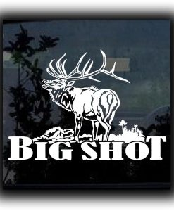 Big Shot Elk Hunting Decals