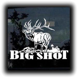 Big Shot Elk Hunting Decals