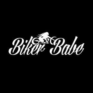 Biker Babe Window Decals