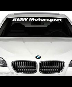 BMW Motorsport Windshield Decals - //customstickershop.us/product-category/windshield-decals/