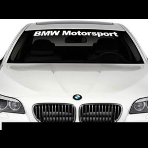 BMW Motorsport Windshield Decals - https://customstickershop.us/product-category/windshield-decals/