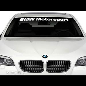 Vinyl Windshield Banner Decal Stickers Fits BMW Motorsport - Bmw vinyl stickers