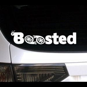 Boosted JDM Sticker Window Decal