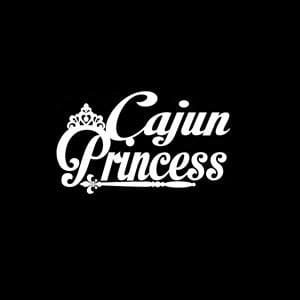 Cajun Princess Window Decals