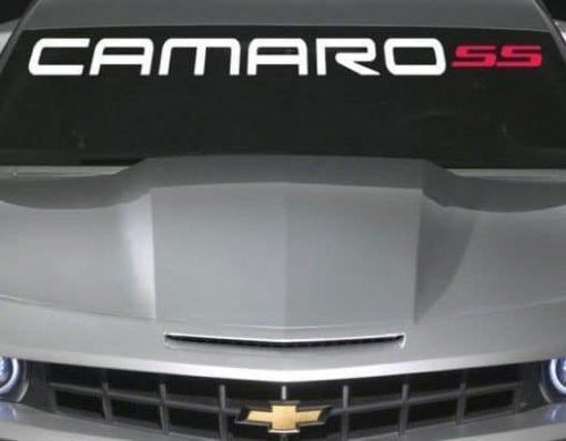 Chevy Camaro SS Windshield Decal - https://customstickershop.us/product-category/windshield-decals/