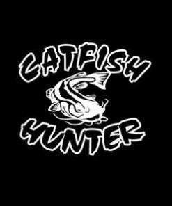 Catfish Hunter Window Decal