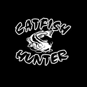 Catfish Hunter Window Decal
