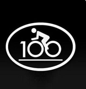 Century Ride Oval Decal sticker - https://customstickershop.us/product-category/stickers-for-cars/