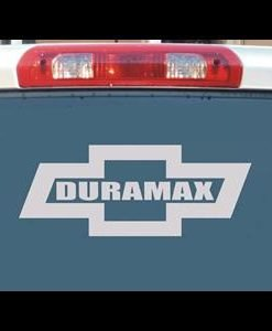 Chevy Duramax Bowtie Truck Decals - //customstickershop.us/product-category/truck-decals/