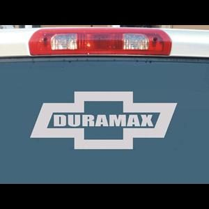 Chevy Duramax Bowtie Truck Decals - https://customstickershop.us/product-category/truck-decals/