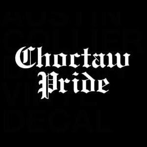 Choctaw Pride Car Window Decal